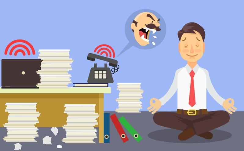 que hacer para no estresarse en el trabajo